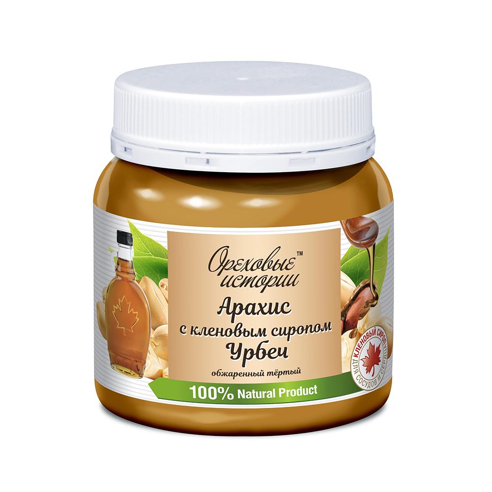 Урбеч арахисовый с кленовым сиропом