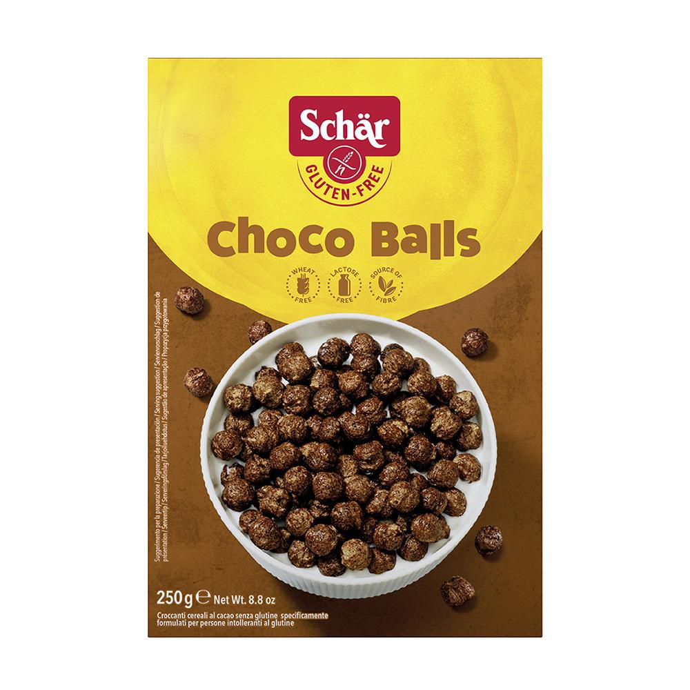 """Сухой завтрак """"Choko Balls"""", шарики шоколадные"""